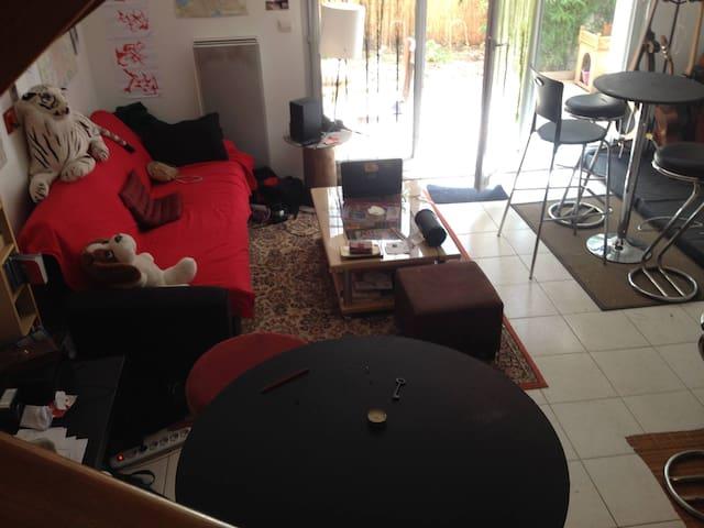 Duplex 78m2 avec jardin - Toulouse - Lägenhet