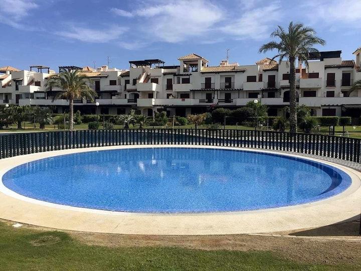 VenAVera J60A - Ground Floor Garden 3Bedroom/2Baths Beachfront WIFI