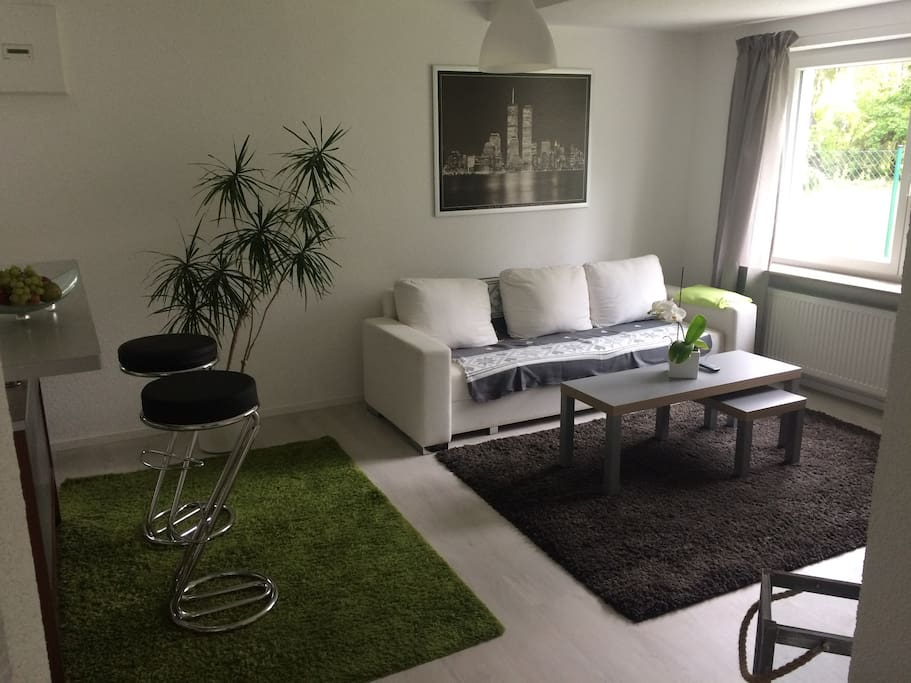 sch ne 60 qm wohnung in hn ost appartamenti in affitto a heilbronn baden w rttemberg germania. Black Bedroom Furniture Sets. Home Design Ideas