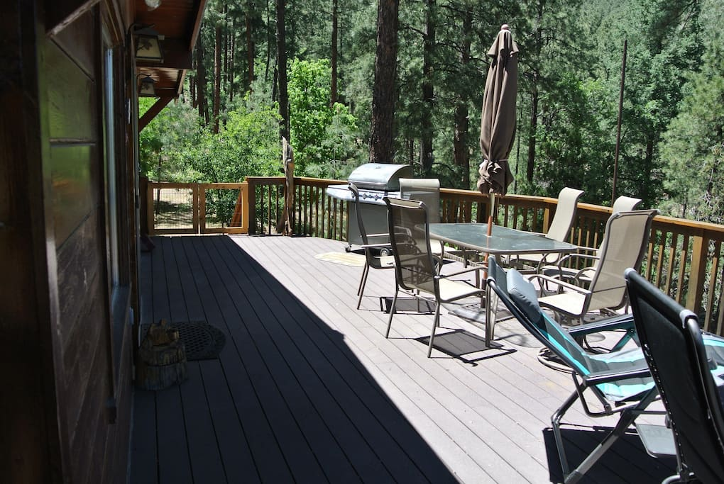 The deck.