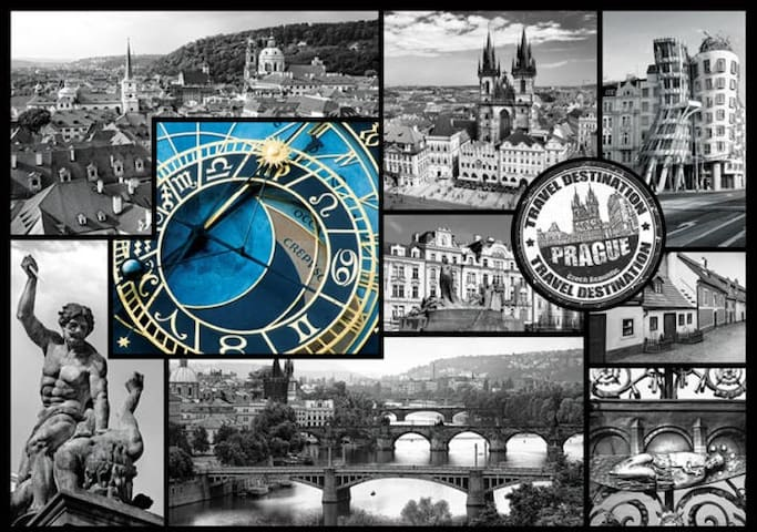 Prague @20min :-) Superhost 2017, 2018, 2019!