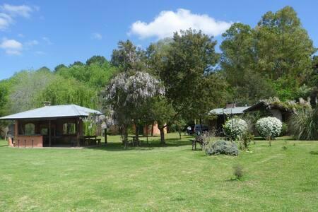 Una casa de campo cerca de la Capital