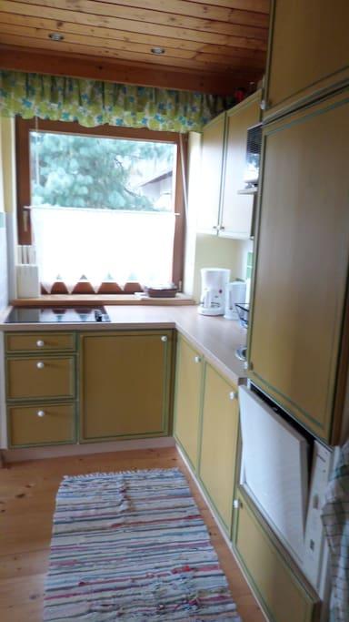 Küche vom Vorraum aus