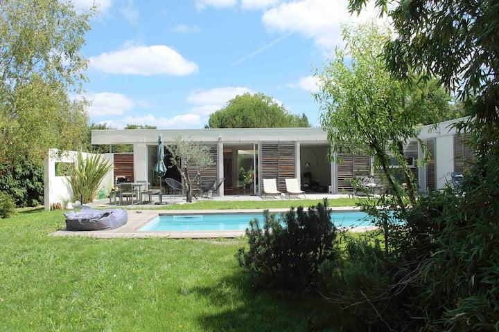 Villa pour vacances d'été tout confort en Vendée