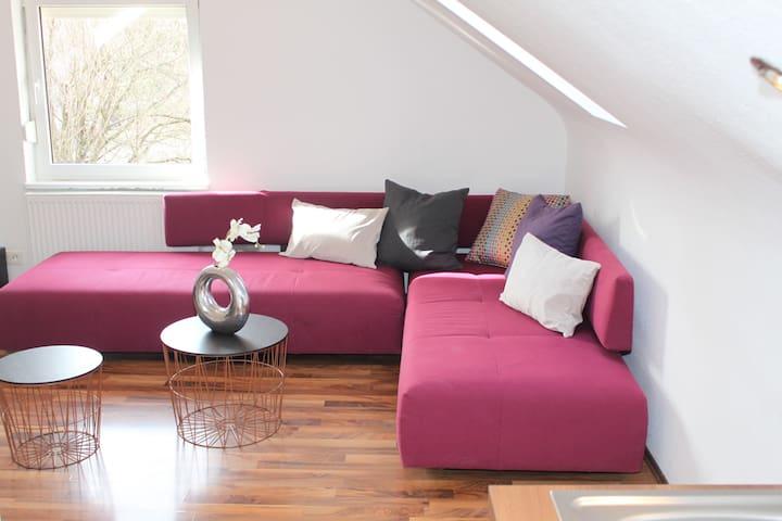 Schöne 60qm,2 Zimmer DG-Wohnung,tolle Ausstattung! - Kirchheim unter Teck - Appartamento