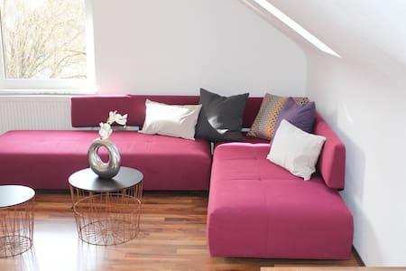 Schöne 60qm,2 Zimmer DG-Wohnung,tolle Ausstattung! - Kirchheim unter Teck - Apartamento