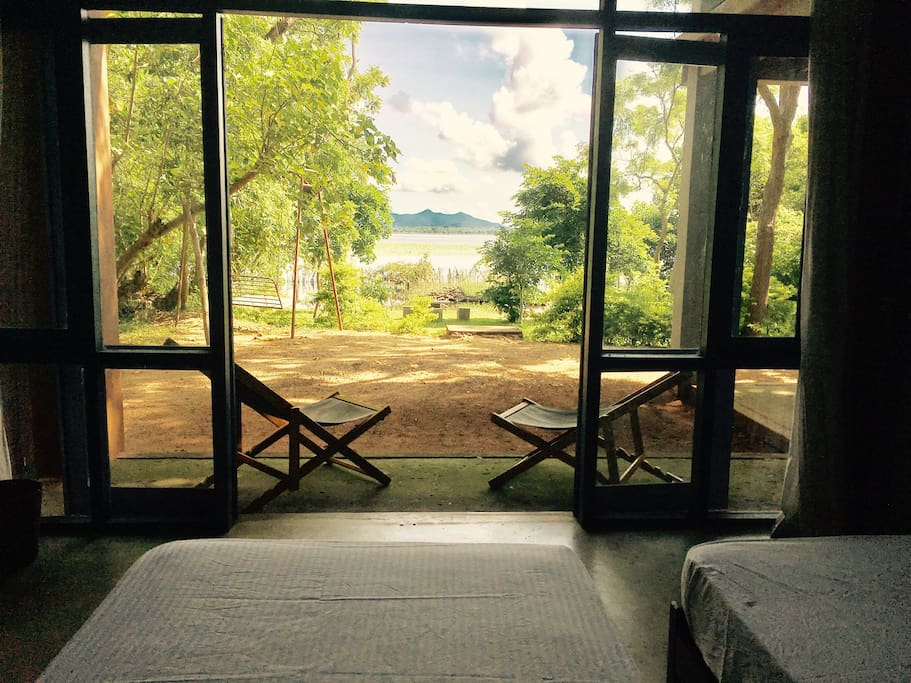 Lake view from rooms