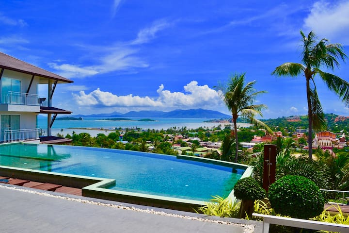 ⭐️⭐️⭐️⭐️ Sea View Studio Apartment Koh Samui