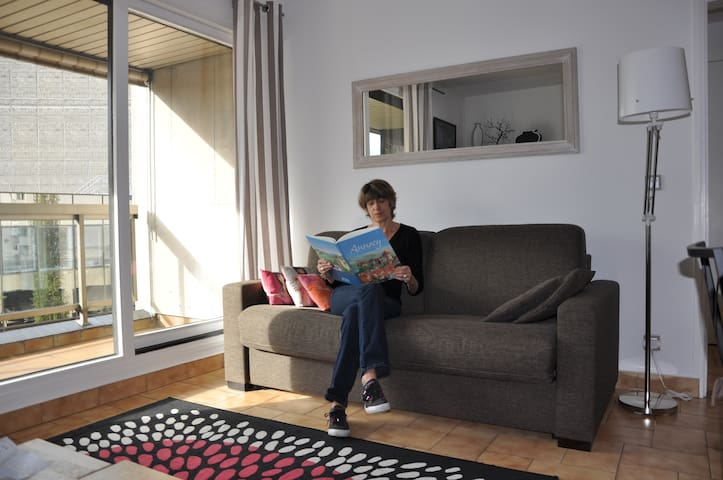 Downtown Annecy, One bedroom apartm - Annecy - Apartamento