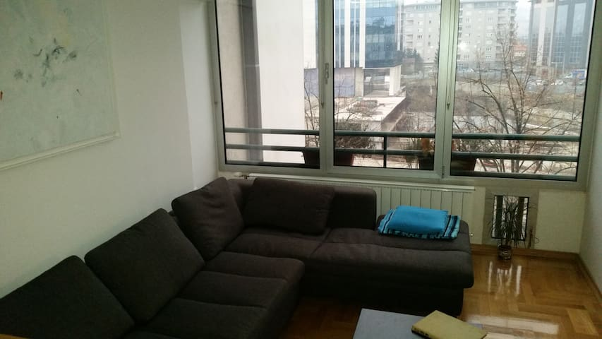 City center | One night sofa bed with parking lot - Banja Luka - Apartment