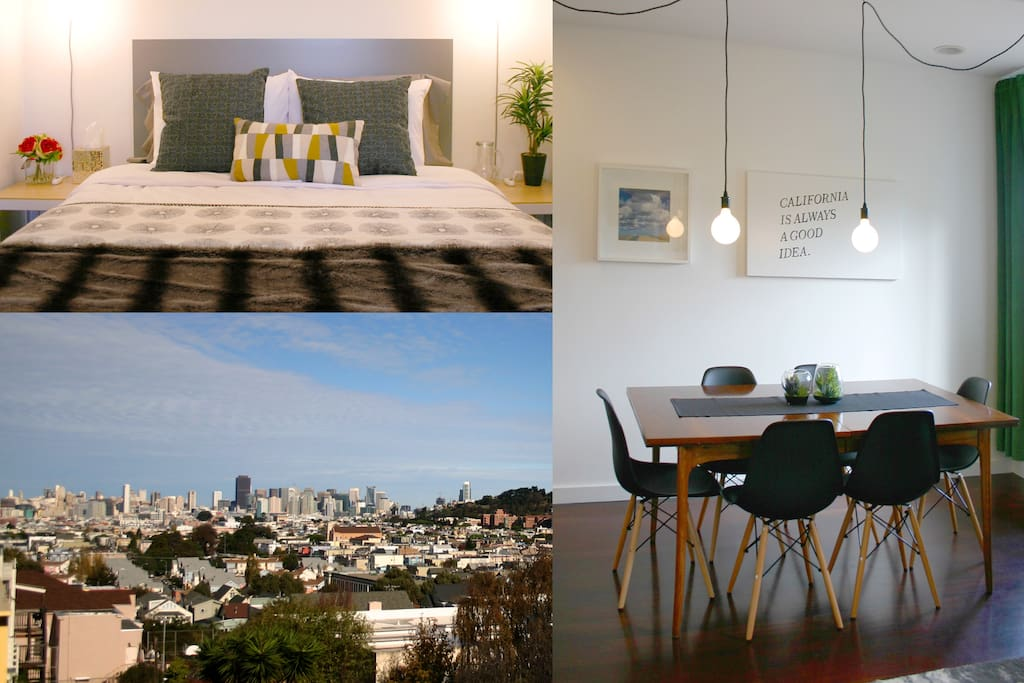 Bohemian Luxury - modern, clean, spacious and gorgeous views!