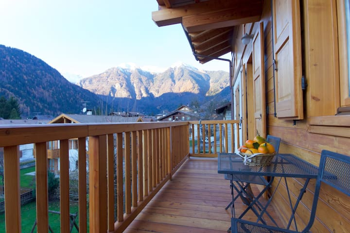Lovely apt in Pinzolo Val Rendena 5 - Pinzolo - Квартира