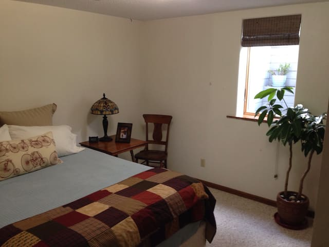 Bicycle friendly private suite. - Decorah