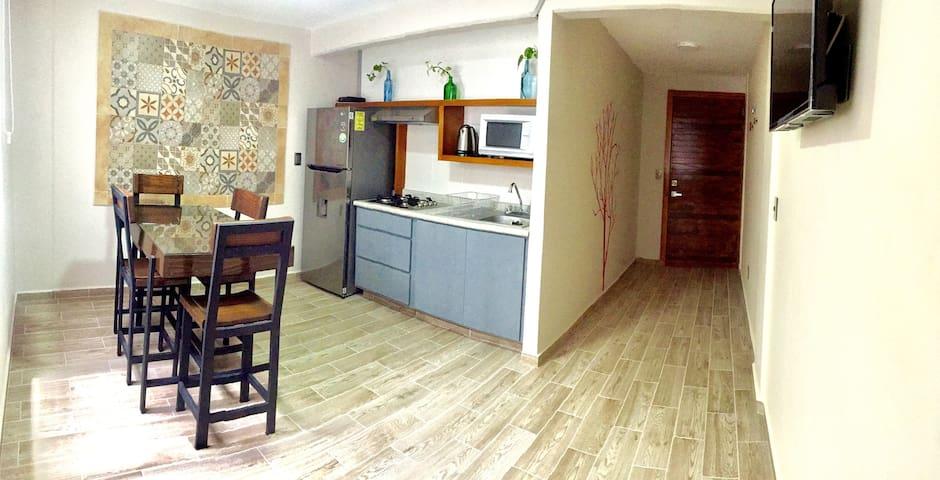 Casa Jalisco. Depto moderno, centro y Tolantongo.