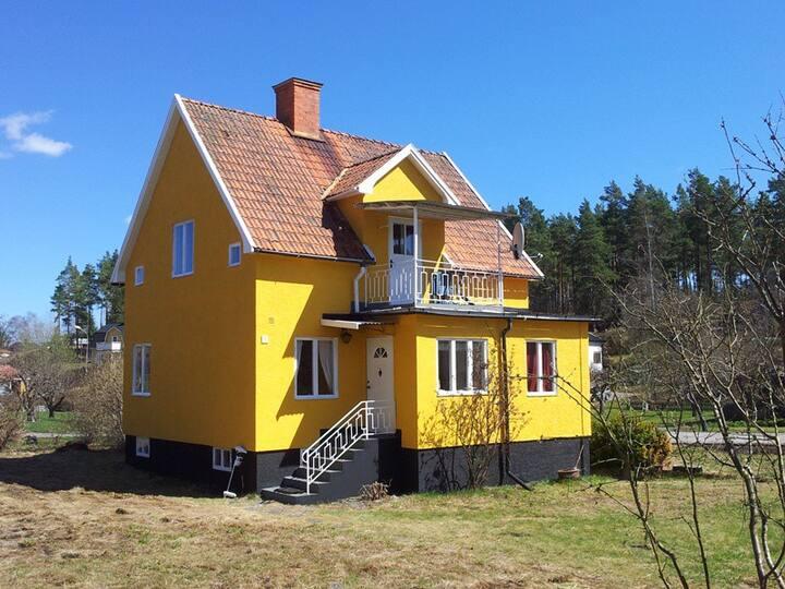 Ferienhaus Saltkrokan - Sauna Boot Internet