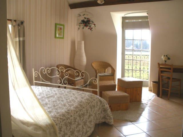 1 Chambre hôte  maison de charme  - SENDETS - Huis