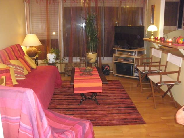 Cosy Flat 53m² Close To Paris - Épinay-sous-Sénart - Apartmen