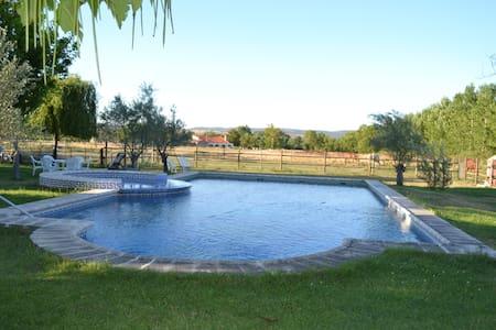 Casona Azul. Gran jardín y piscina - Ciudad Rodrigo