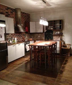 Cozy 2-bedroom loft in old factory - Vaasa