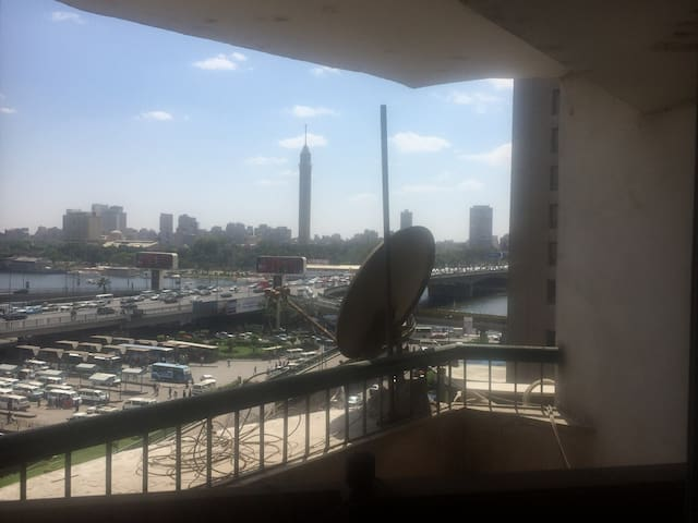 A Nile view room