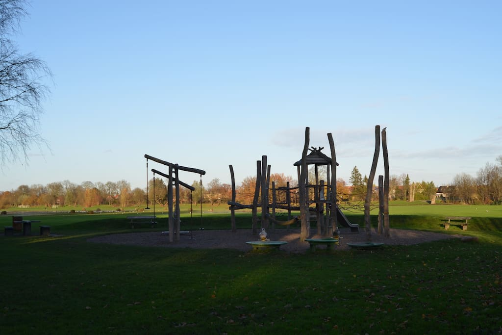 Play ground for kids in the park - 300 meters from the house