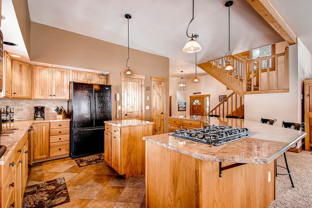 kitchen with all you need for a perfect vacation!