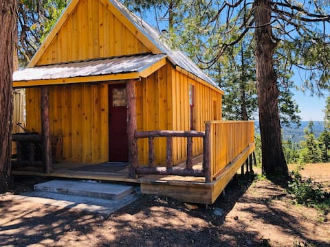 """The """"Moose Lodge"""" cabin in the Sierra Nevada Mnts"""