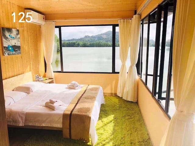 【逅客】近红树林湿地 水上木屋海景大床房