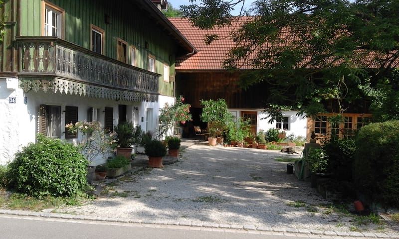 Wunderschöne Wohnung in denkmalgeschütztem Anwesen - Marklkofen - Apartament