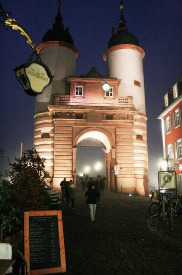 Oldtown Lodge in the heart of Heidelberg
