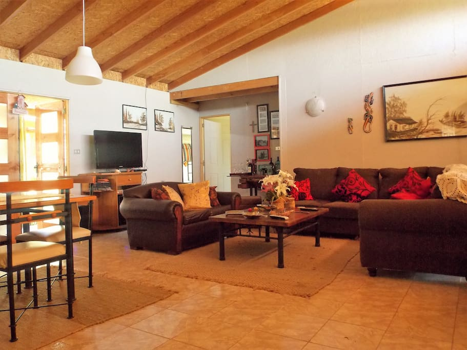 Sala de estar, espacios comunes.