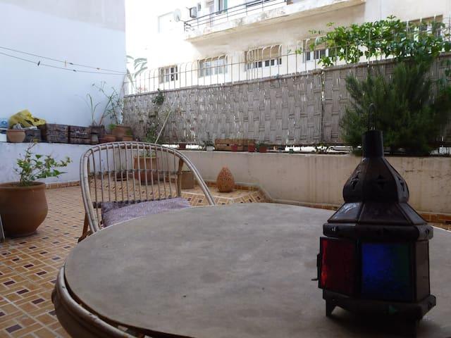 Chambre privée Quartier Hassan - Rabat - Apartemen