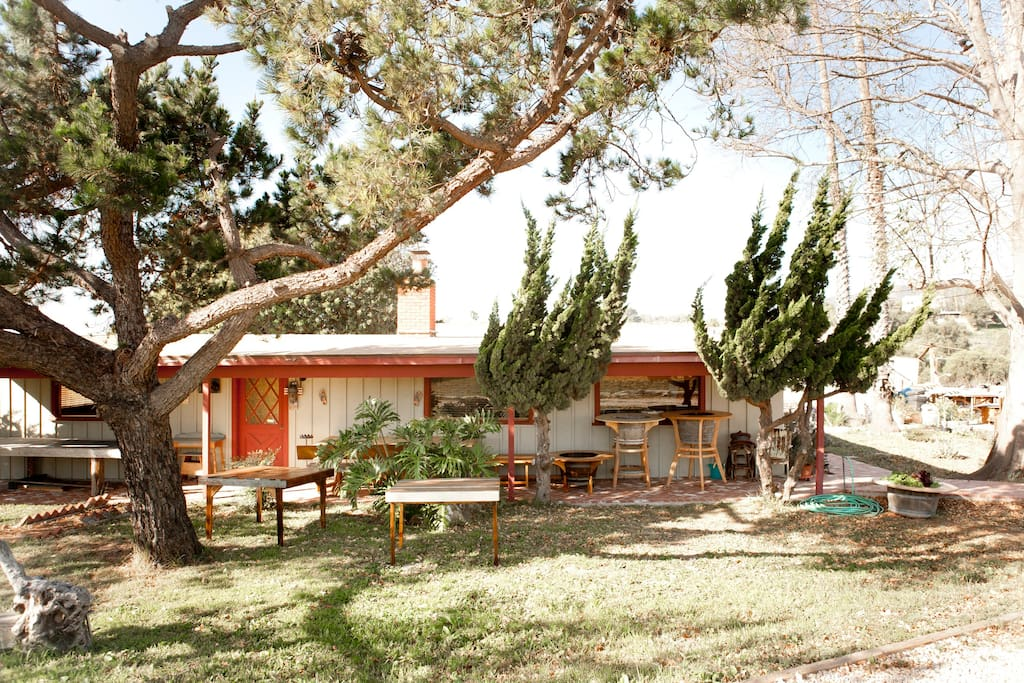 Charming 1940s Malibu Ranch House--Front of House