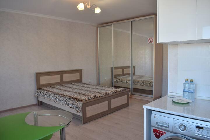 Уютная 1 комнатная квартира на Абая 138