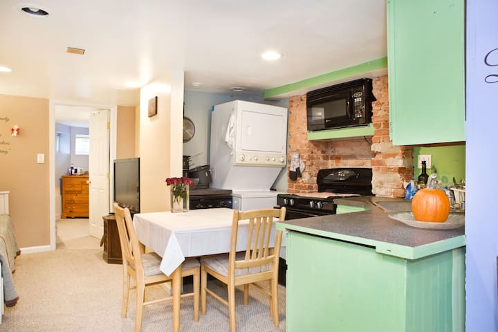English Basement in the Heart of DC - Washington - Appartement