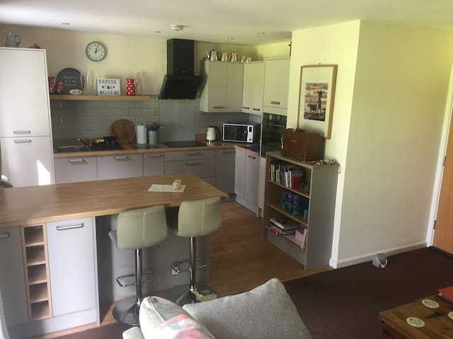 Modern flat, view over the park, wifi, Cardiff