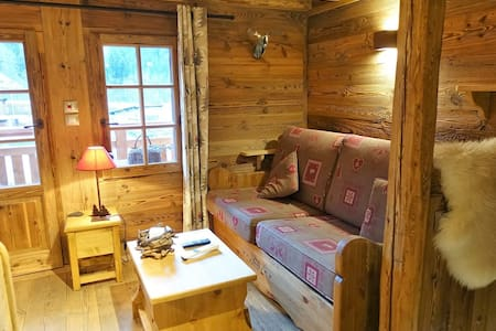 CHALET 3/4 PERS. IN THE HEART OF THE VILLAGE.