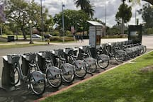 Bike and scooter rentals nearby
