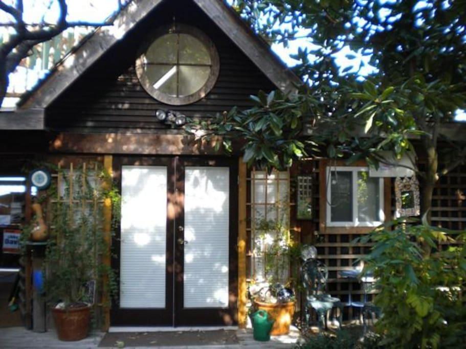 Entrance to Casa MacMello