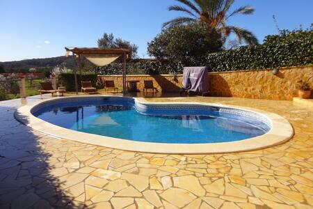 Large villa with swimming pool in Ibiza - Sant Antoni de Portmany