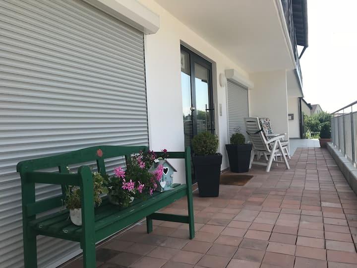 Renovierte 2 Zi-Wohnung in Deggendorf im  EG