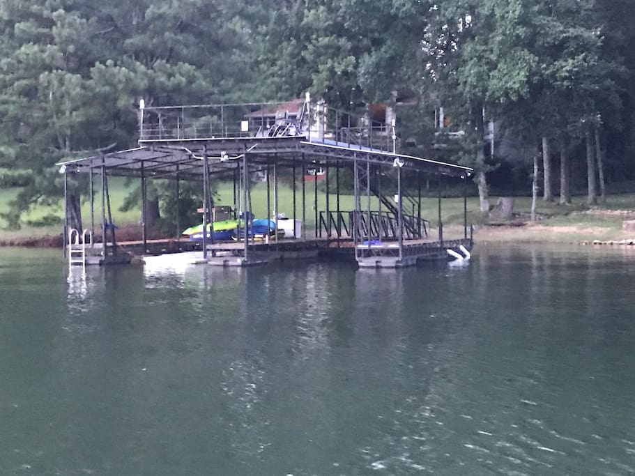 32 x 32 Double high double wide dock
