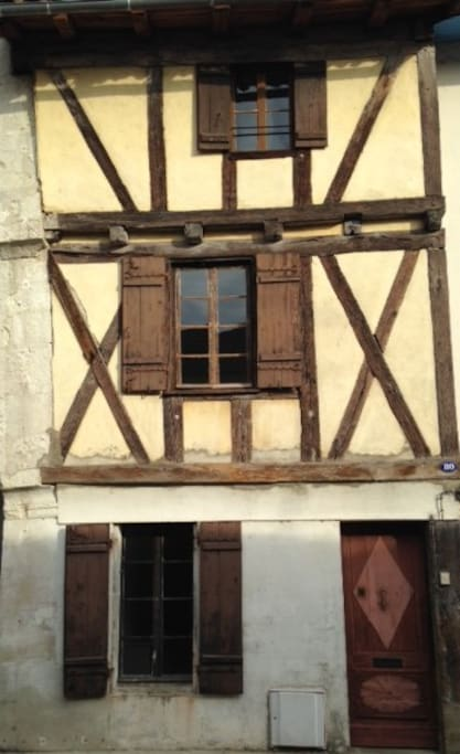 Medieval Half Timbered House