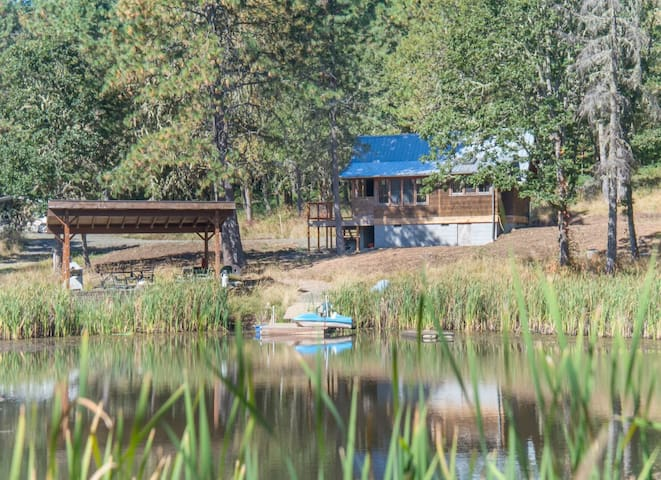 Lovely Private Cabin Close to City and Wineries - Eugene - Cottage