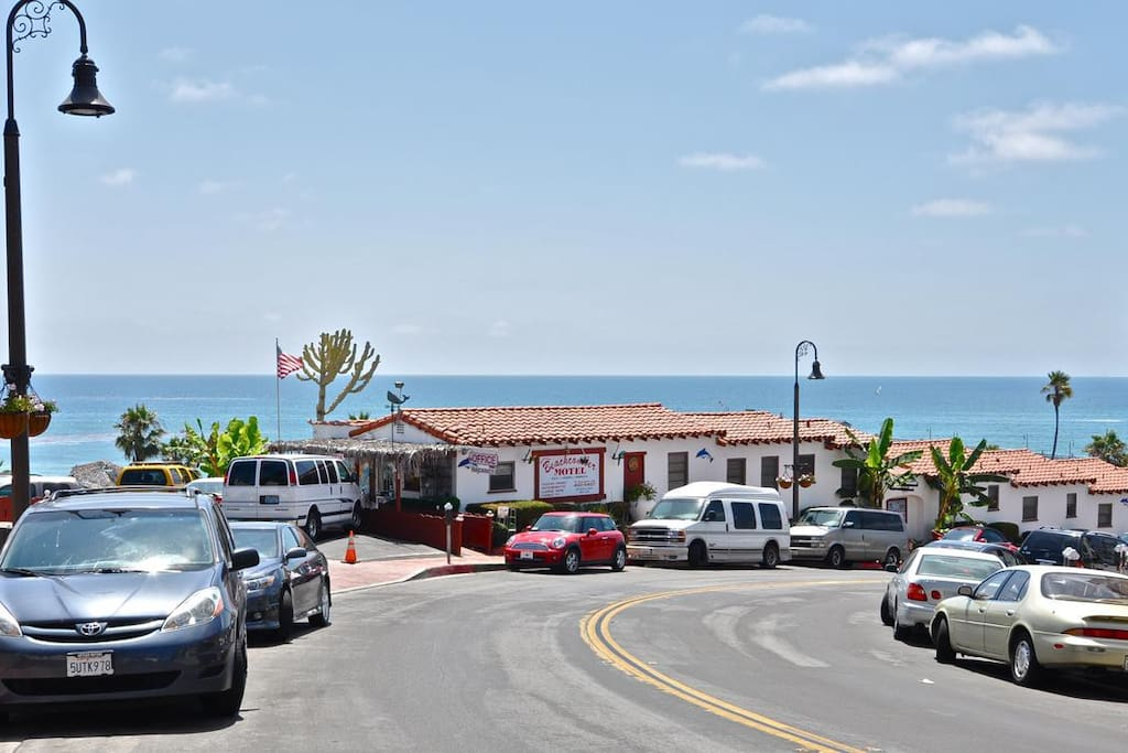 Walk down to the San Clemente pier every day, or visit nearby local shops!