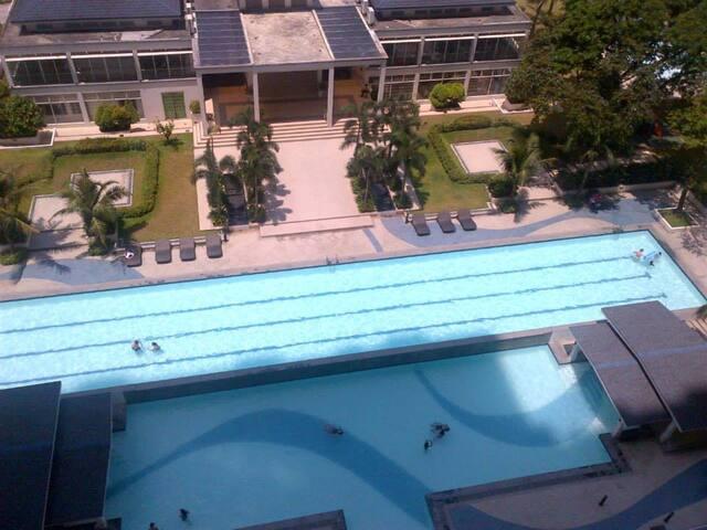 Got balcony, sunrise & citylights - Ciutat Quezon - Pis