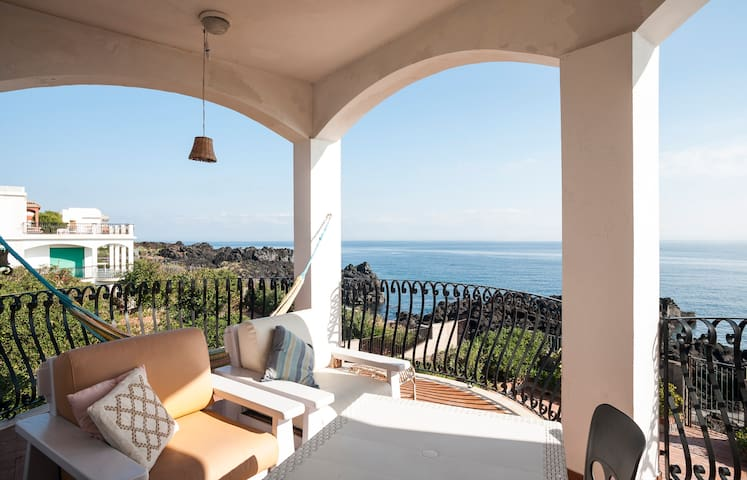 Seaside apt in Stazzo (Acireale) - Acireale - Appartement