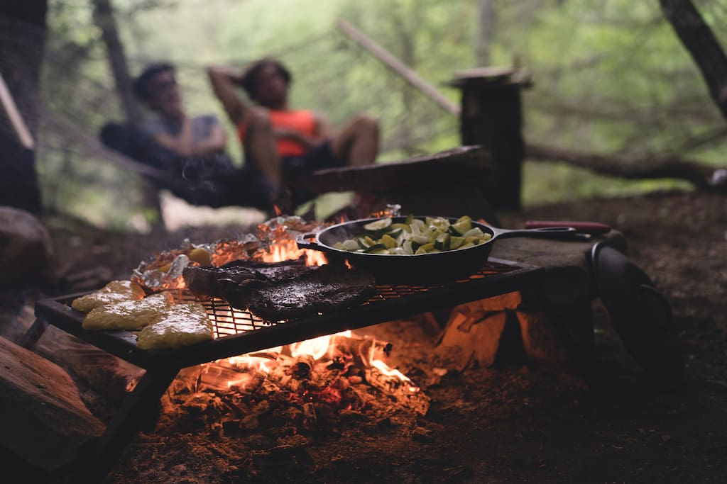 Nothing beats cooking outdoors. Except probably for eating outdoors.