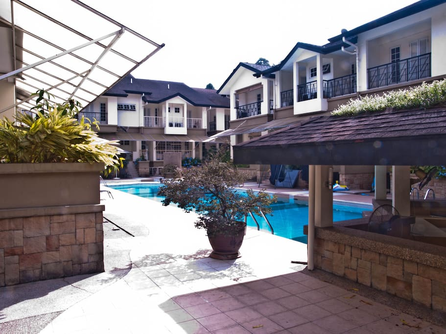 May organise a small intimate BBQ dinner at the poolside Pavillion