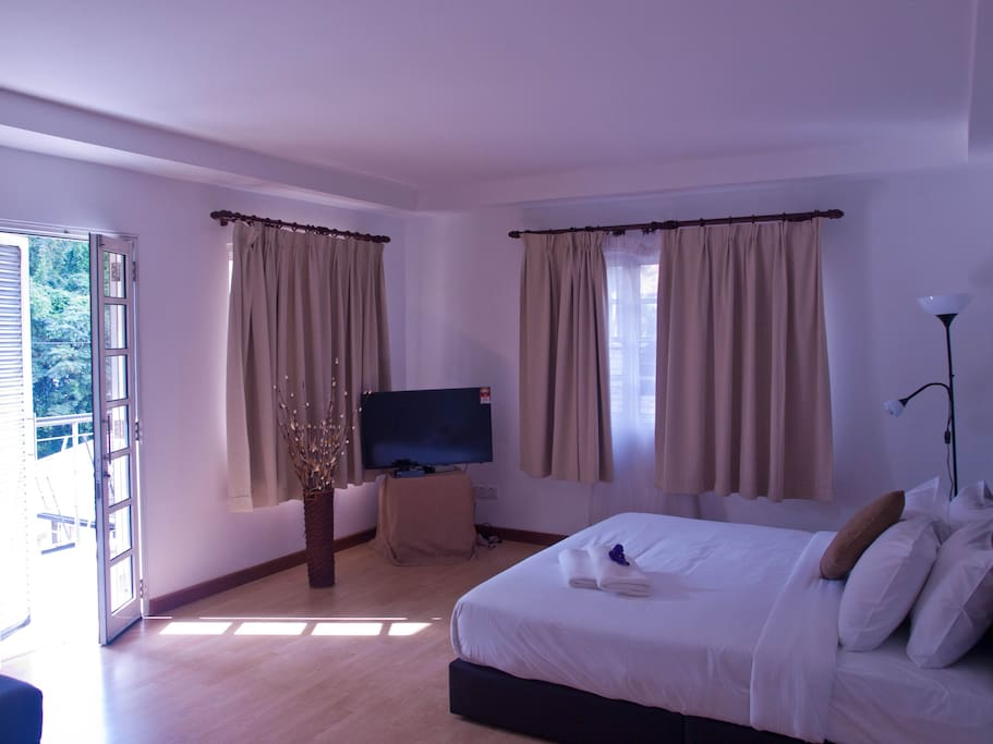 Premier double room with a king size bed